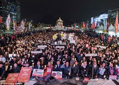 South Korean president hosts Trump for lavish state dinner | Daily Mail Online