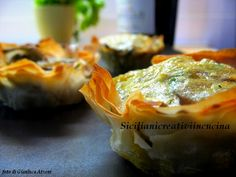 Artichoke Pie in Phyllo Dough Other Recipes, Veggie Recipes, My Recipes, Italian Recipes, Vegetarian Recipes, Healthy Recipes, Phylo Dough Recipes, Fingers Food, Artichoke Recipes
