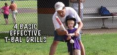 T-Ball Drills That Dominate The Field. This Girl.....