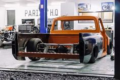 Hot Wheels - Oh yeah love seeing progress shots! The man Matt from @pariahcustomwerks got his C10 build off the chassis table and on the ground this week, using the best from @accuair , @porterbuilt and more you know it's going to be sweet!...