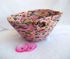 $25 Victorian Rose Basket #Handmade #Pink #Basket by #WexfordTreasures