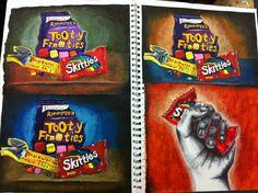 a's art class Textiles Sketchbook, Gcse Art Sketchbook, Sketchbook Ideas, Art Journal Prompts, Journal Ideas, Art Projects For Adults, Art Prints For Home, Art Journal Inspiration, Art Inspo