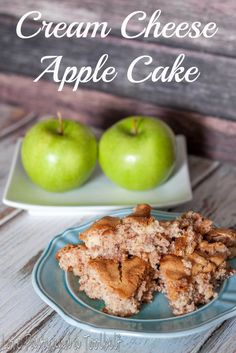 Cream Cheese Apple Cake- Love, Pasta and a Tool Belt | apples | recipes | cake…