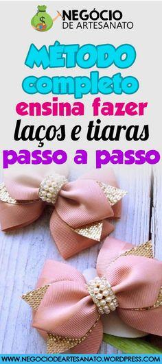 APRENDA PASSO A PASSO COMO FAZER LAÇOS PARA CABELO PARA VENDER E GANHAR ATÉ 6 MIL POR MÊS. CLIQUE NO PIN E SAIBA COMO. vender laços, vender laços na rua, como vender laços, fazer laços de fita, fazer laços de cabelo, fazer laços para o cabelo, fazer laços para o cabelo passo a passo #laçosetiaras #laçosdeluxo #laçospassoapasso #laçosdefita #comofazerlaços #venderlaços #vender #laços #na #rua #laçosparacabelo #laçosinfantis #fazerlaçosdefita #fazerlaçosdecabelo Foto/by… Baby Hair Clips, Diy Bow, Flower Crafts, Hair Jewelry, Hand Embroidery, Fall Decor, Diy And Crafts, Creations, Hair Accessories