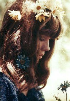 Flower child beauty.