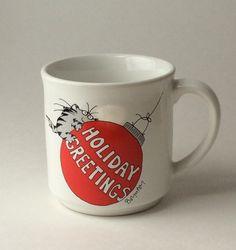 A personal favorite from my Etsy shop https://www.etsy.com/listing/405292953/vintage-sandra-boynton-mug-sandra