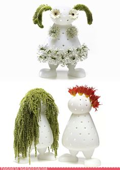 Bloomy Buddy    Fashion design with flowers! Get your creativity on.