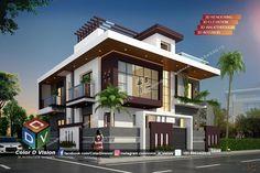 Black Window Trims, Black Windows, Front Elevation Designs, House Elevation, Small House Design, House Architecture, Exterior Design, Jay, Buildings