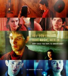 I am just having serious Merlin and Morgana feels right now....