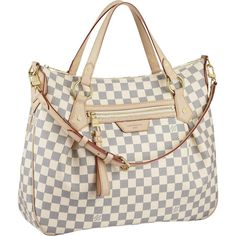 Louis Vuitton Damier Azur Canvas Evora MM Fearture: * Hand or shoulder carry with removable, adjustable strap * Zipped front pocket * Interior double patch pocket * D-ring for keys and accessories * Soft microfiber lining Malas Louis Vuitton, Louis Vuitton Damier, Sacs Louis Vuiton, Louis Vuitton Taschen, Louis Vuitton Handbags, Lv Handbags, Vuitton Bag, Designer Handbags, Canvas Handbags
