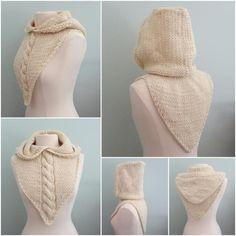 Maid Marian Hoodie Bandana Bulky Yarn | Craftsy