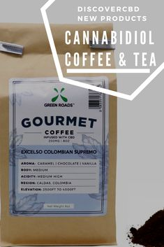 Green Roads Gourmet CBD Infused Coffee 500mg CBD Hemp Coffee