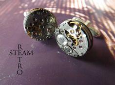 Gemelos Steampunk de Steamretro, Complementos, Gemelos