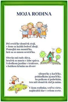 Rodina School Doors, Indoor Activities For Kids, Portfolio, Projects For Kids, My Children, Diy And Crafts, Kindergarten, Poems, Preschool