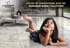 Stylish yet conventional with the RadhaRani #Marble Collection!