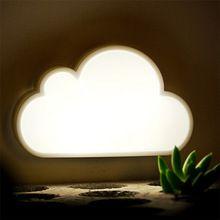 Nouveauté nuage enfants bébé enfants Portable LED lumière de nuit veilleuse lampe(China (Mainland))