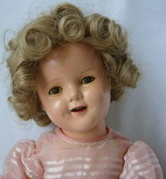 Shirley Temple Composition Doll by Ideal Novelty & Toy Company - For sale on Ruby Lane