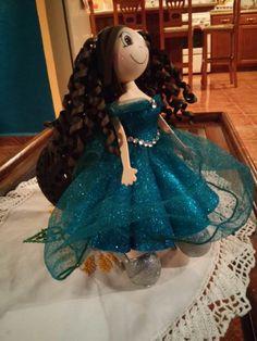 Resultado de imagen para como hacer una muñeca fofucha quinceañera moldes