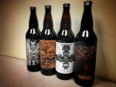 Adroit Theory uses ominous artwork to stand out in the crowded craft beer market.