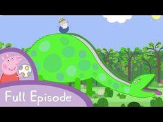 Peppa Pig: Grampy Rabbit's Dinosaur Park - YouTube Dinosaur Park, Full Episodes, Peppa Pig, Rabbit, Aurora Sleeping Beauty, Cool Stuff, Disney Characters, Youtube, Cook