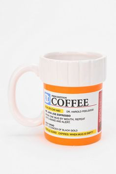 Urban Outfitters - Prescription Coffee Mug ... Reminded me of you for some reason @cakoGiammattei @alejandro fuentes