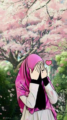 23 best art animasi hijab - my ely Cartoon Girl Images, Girl Cartoon, Cartoon Art, Muslim Pictures, Muslim Images, Islamic Girl Images, Islamic Art, Tmblr Girl, Hijab Drawing