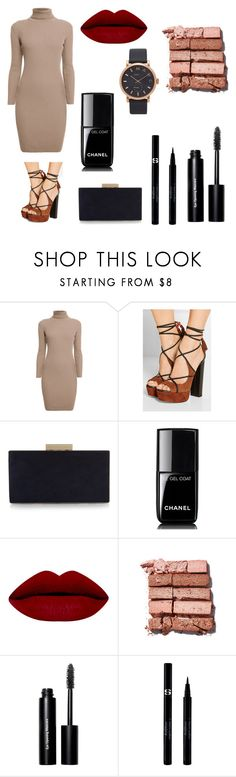 """""""Untitled #42"""" by torilinton ❤ liked on Polyvore featuring Rumour London, Aquazzura, Monsoon, Chanel, Bobbi Brown Cosmetics, Sisley and Marc Jacobs"""