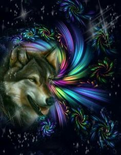 💜💙💛💛💙💜 Wolf Images, Wolf Pictures, Beautiful Wolves, Animals Beautiful, Lone Wolf Quotes, Watercolor Wolf Tattoo, Wolf Craft, Wolf Spirit Animal, Wolf Artwork