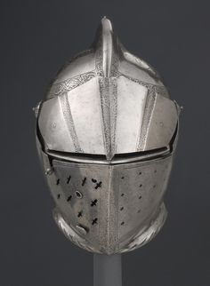 German Close Helmet for Tourney 16th Century
