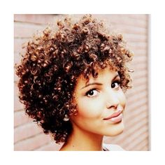 15 Inspirational Natural Hairstyles for Short Hair ❤ liked on Polyvore featuring accessories, hair accessories and short hair accessories