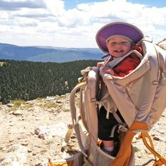 The Best Hiking Carriers for Mountain Kids. By Outside Magazine. We will have mountain kids someday! - The Kids They Carried: The Best Mountain Carriers Hiking With Kids, Camping And Hiking, Family Camping, Travel With Kids, Camping Baby, Camping Hammock, Kayak Camping, Winter Camping, Hiking Tips