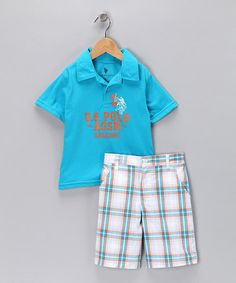 Ready for the match! Outfit by US Polo on #zulily today.