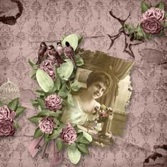 A Basket Full of Flowers de Angelique's Scraps Paradisescrap: [ link ] Scrap from France: [ link ]   Templates 10 by Pat's Scrap [ lin...