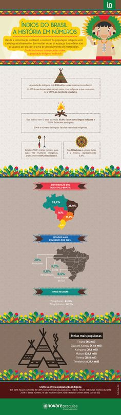#índio #DiaDoÍndio #pesquisa #dados #estatísticas #Brasil #PesquisadeMarketing #Innovare #InnovarePesquisa #Tribo #Aldeia