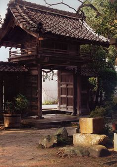 Tenmangu near Kyoto: 17th-century house