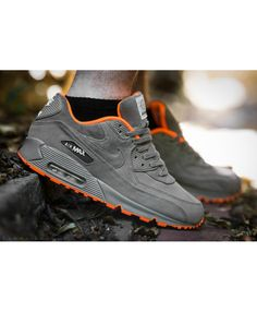 Nike Air Max 90 Milano Grey Orange Sale UK 86babada7c
