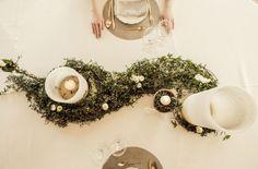 Decoración floral para mesa imperial de Oh Fleurs!