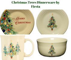 Christmas Trees Dinnerware Collection by Fiesta  sc 1 st  Pinterest & Bristol Blue \u0026 White Holiday Dinnerware Collection by Fitz \u0026 Floyd ...