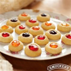 These delicious Jewel Box Cookies from Smucker's® will be the crown jewels of the dessert table this holiday.