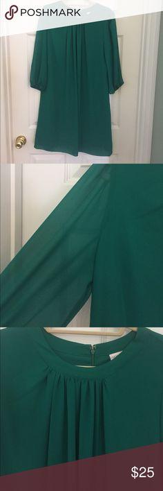 Selling this NY&Co Green smock dress on Poshmark! My username is: lphavird. #shopmycloset #poshmark #fashion #shopping #style #forsale #New York & Company #Dresses & Skirts