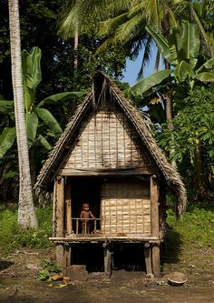 Traditional house on one of the Trobriand Islands. The Trobriand Islands are a archipelago of coral atolls off the east coast of New Guinea. They are part of the nation of Papua New Guinea and are in Milne Bay Province. Papua Nova Guiné, West Papua, Thinking Day, South Pacific, Archipelago, Papua New Guinea, Fiji, Tahiti, Traditional House