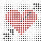 Valentijnsdagpagina van kleutergroep.nl. Goed te gebruiken bij de verliefde zwarte piet