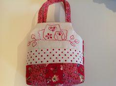 Owl Bag (Pattern - Julie Makes Owls, Calico Farm Designs)