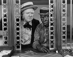 W.C. Fields and Billy Mitchell in The Bank Dick (1940)