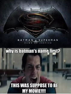 Why does Batman get top billing?