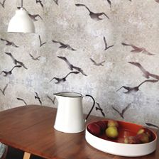 Flight sand wallpaper, Louise Body