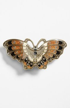 L. Erickson Artisan Butterfly Barrette available at #Nordstrom