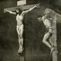 Gebhard Fugel (1863–1939) Altötting, Panorama Kreuzigung Christi Gebhard Fugel Studie zum Panorama Kreuzigung.jpg