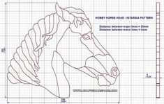 The hobby horse is one of the oldest known toys. In our hobby horse plan we presented two versions of this old folk toy. Woodworking Horse, Intarsia Woodworking, Woodworking Patterns, Woodworking Books, Intarsia Wood Patterns, Wood Carving Patterns, Antique Rocking Horse, Face Doodles, Horse Fabric