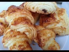 croissants et pains au chocolat sans gluten -gluten free croissants - YouTube